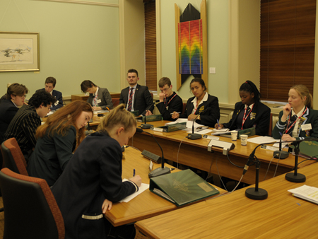 Be Heard - Young people in parliament
